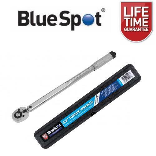 """BlueSpot 3//8/"""" DRIVE Clé Dynamométrique 19-110 Presque comme neuf Square Drive Ratchet 02007"""