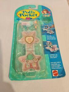 NIB Vintage Polly Pocket BlueBird 1993 Fairy SpellsLocket Necklace NEW COMPLETE