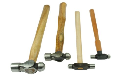 2 oz 1oz Ball Pein Hammers Set x 4 8oz Jewellers Tools 4oz J1290