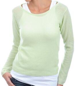cashmere donna 2 verde girocollo 100 brillante veli Balldiri Xl maglione TRw5q