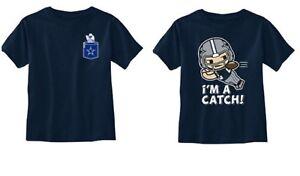 Dallas Cowboys NFL Toddler Boys Navy Pick Style Short Sleeve T-Shirts Tee: 2T-4T