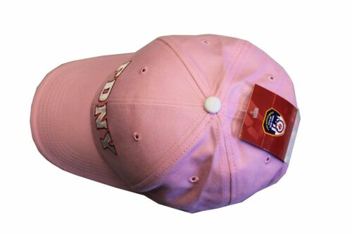 FDNY Baseball Hat Fire Department Of New York City Pink /& White One Size Womens