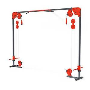 CABLE CROSSOVER MACHINE  PULL UP WALL MOUNTED HOME GYM MULTI GYM