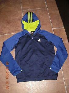 Adidas Climalite Hoodie Kapuzen Jacke Sportjacke Gr. 140