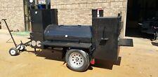 Pro Pitmaster Bbq Smoker 36 Griddle 4burner Trailer Business Catering Food Truck