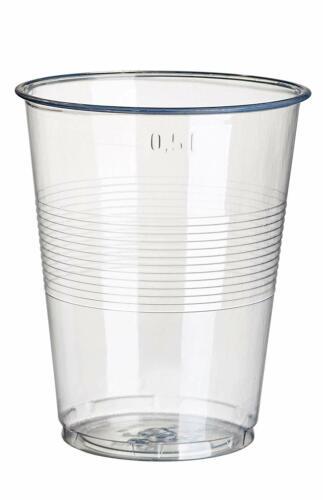 PAPSTAR Kunststoff-Trinkbecher PS 0,5 l glasklar 75 Stück