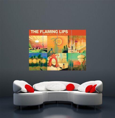 FLAMING LIPS YOSHIMI PINK ROBOTS COVER MUSIC GIANT ART POSTER PRINT  WA491