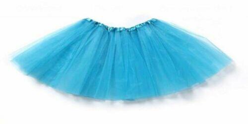 Tütü Glitzer Ballettkleid Tutu Petticoat Karneval Fasching Rock Tüll 3-5 Lagig