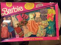 1991 Barbie Special 20 Complete Fashions Gift Set Costco Exclusive Brand