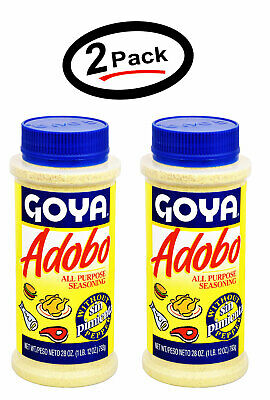 Goya Adobo Seasoning Without Pepper Adobo Sin Pimienta 28 Oz 2 Pack Free Ship 41331038430 Ebay