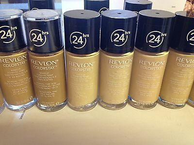REVLON COLORSTAY 24HRS FOUNDATION OILY / COMB or NORMAL DRY SKIN WITHOUT PUMP