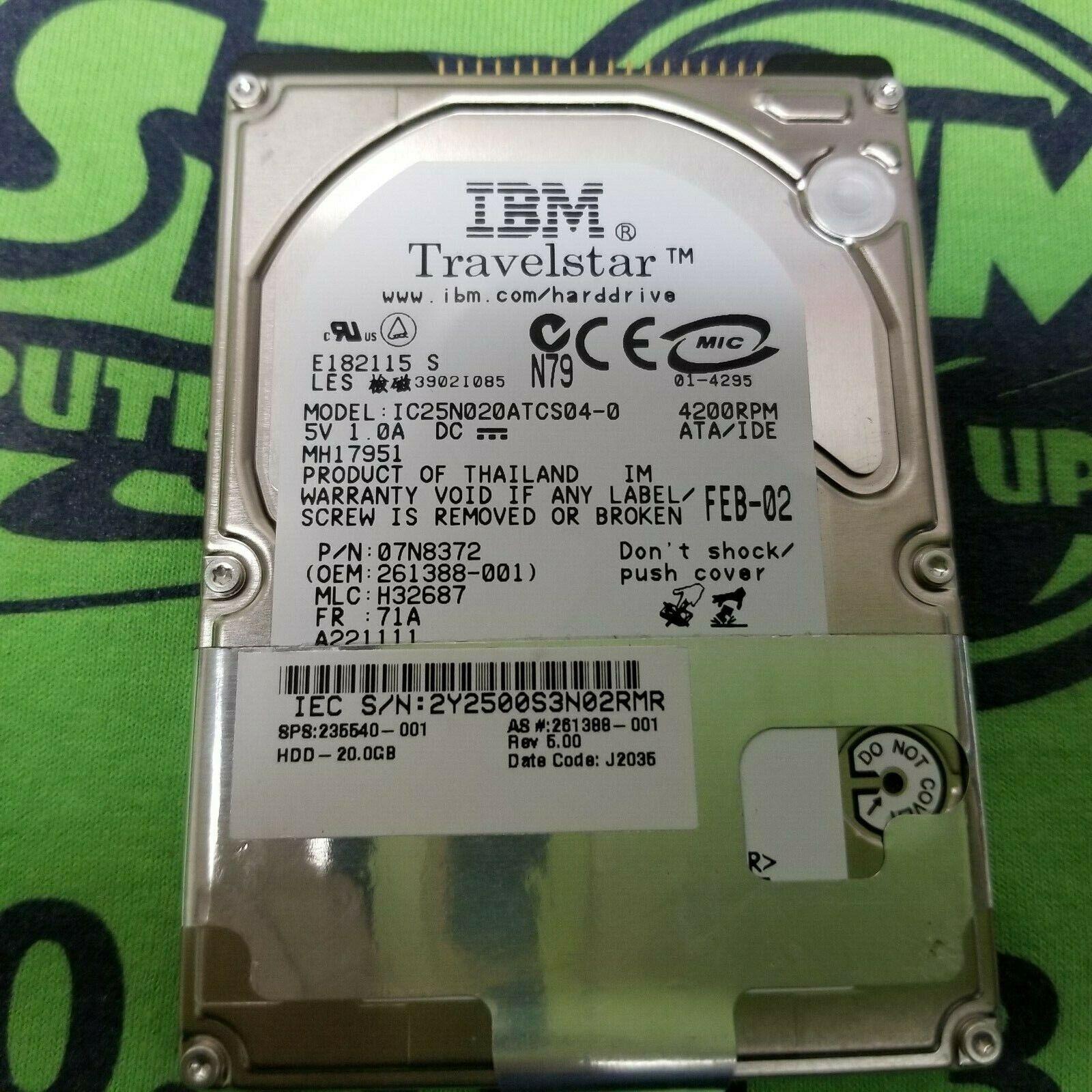 03L5630 Hard Drive IBM DADA-25400