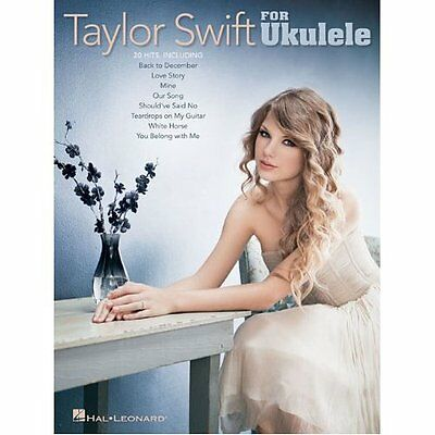 SALE* SONG BOOK TAYLOR SWIFT FOR UKULELE 20 SONGS LYRICS / CHORDS UKE SONGBOOK