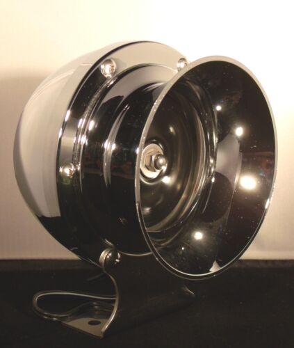 Marine Bootsfanfare Signalhorn Nebelhorn tiefer Ton 290 Hz 12 Volt verchromt