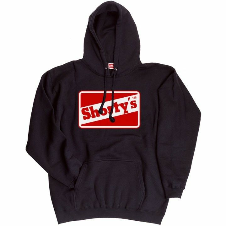 Vintage Shortys Skateboards Hooded Sweatshirt  Herren Größe M From Santa Barbara CA