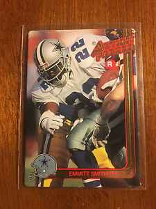 1991-Action-Packed-Emmitt-Smith-Rookie-Prototype-Rare-Dallas-Cowboys-SP-Promo