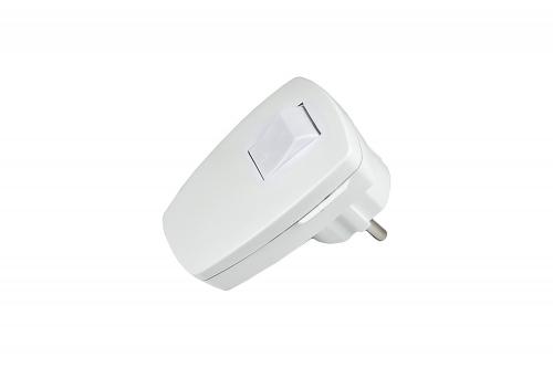 Stecker mit Schalter GAO EMP100SW Schutzkontakt