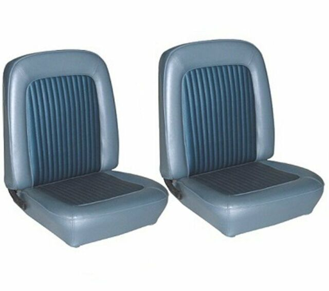 1968 Mustang Front Bucket Seat Upholstery- Nugget Gold ...