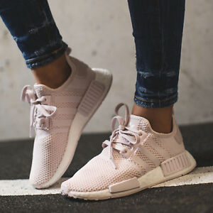 huge discount 94ece 9e5ed Details about ADIDAS ORIGINALS NMD R1 W ORCHID TINT PINK WOMEN SNEAKERS  B37652