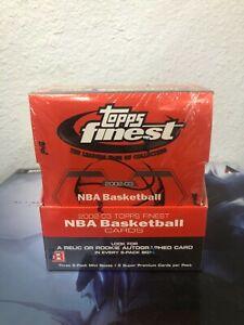 2002-03 Topps Finest NBA Basketball Cards Hobby Box NEW/SEALED