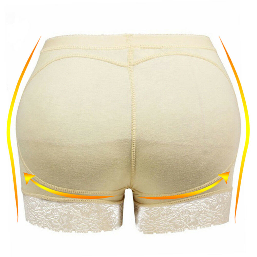 Silicone butt pads enhancer underwear womens removable lace panties shapewear for sale