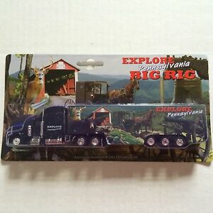Image Is Loading Pennsylvania Truck Explore Pa Rig Toy Tractor