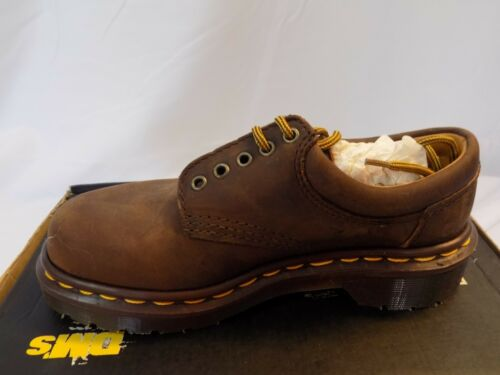 New Vtg Dr Doc Martens Oxford Leather Shoes Gaucho 9496 UK Child 12 US Youth 13