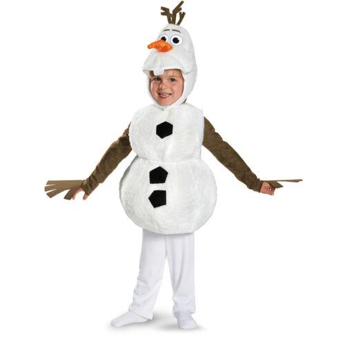 FROZEN OLAF SNOWMAN ELSA ANNA DELUXE TODDLER CHILD KID FUN COSPLAY COSTUME 12M+