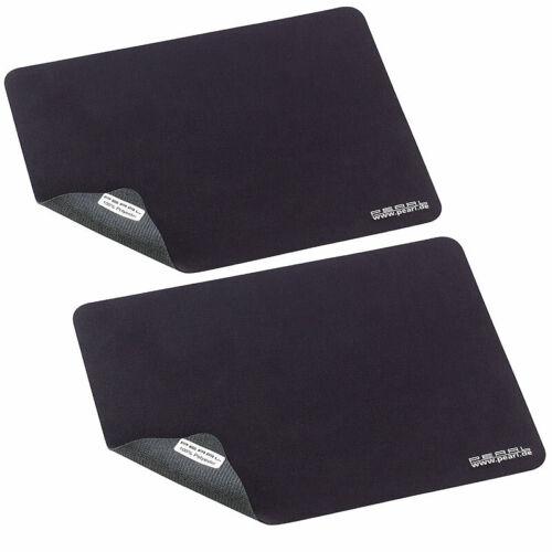 Mousepad 2er-Set 3in1 Mikrofaser-Mauspad Display-Schutz /& Reinigungs-Tuch