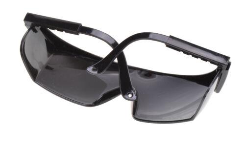 Schutzbrille EN166 Arbeitsbrille Sicherheitsbrille Schwarz NEU