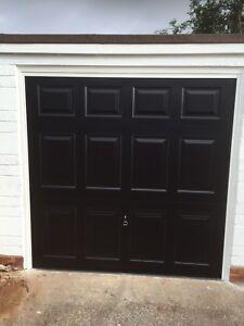 Image Is Loading Black Garador Beaumont Canopy Garage Door Up Amp
