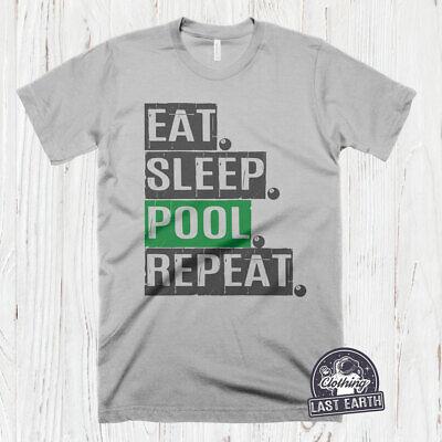 SNOOKER EVOLUTION billiards game  t-shirt gift present idea