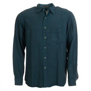SIGNUM-Shirt-Green-Cotton-Blend-Size-Medium-BW-390