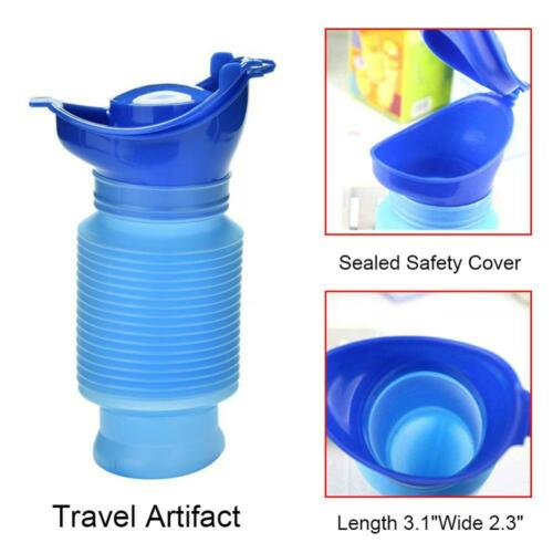 Portable Urinal Toilet Pee Bottle Emergency Kit Travel Camping Car Male Female