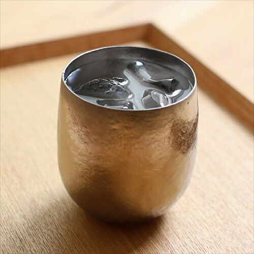 Japanese Handmade Vacuum titanium tumbler made by sus gallery F//S NEW