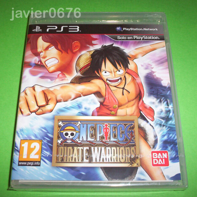 ONE PIECE PIRATE WARRIORS NUEVO Y PRECINTADO PAL ESPAÑA PLAYSTATION 3 PS3