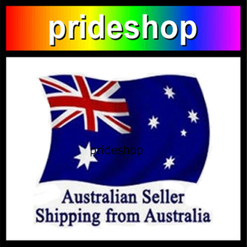 Rainbow Heavy Knit Long And Wide Polyester Scarf Lesbian Gay Pride #1175