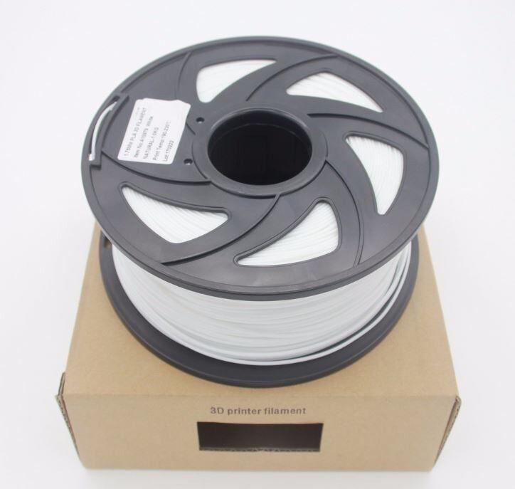 3d filament 1.75mm 1kg ABS White