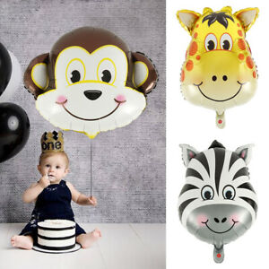 Animals-Cartoon-Foil-Balloons-Kids-Birthday-Party-Decorations-Baby-Shower-UK