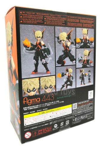 Katsuki Bakugo Figma Action Figure IL MIO EROE Academia Autentico Max Factory nuovo con scatola