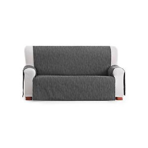 Detalles De Funda Para Sofa De 3 Plazas En Color Gris Marca Eysa Facil De Colocar