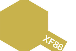 Tamiya-10ml-Dark-Yellow-2-Mini-Acrylic-Paint-XF-88