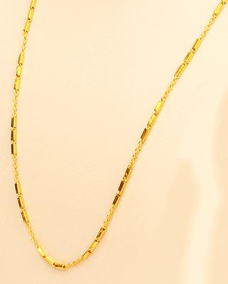 22k Gold Necklace Chain From Thai Thailand 7 2 Gram 1 5 Mm 22