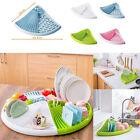 Kitchen Sink Dish Plate Drainer Drying Rack Washing Holder Storage Organizer