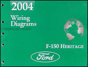 2004 Ford F150 Heritage and SVT Lightning    Wiring       Diagram    Manual F150    Electrical      eBay