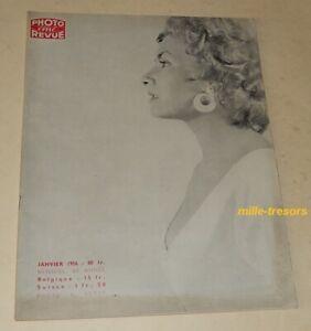 PHOTO-Cine-REVUE-Janvier-1956-ROBOT-Royal-Walt-DISNEY-Obturateurs-CREMER