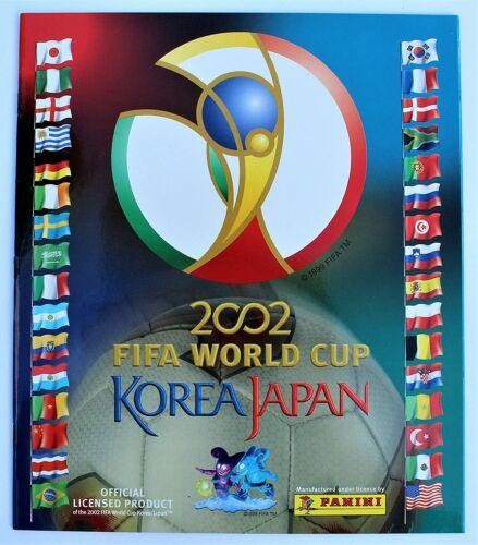Panini WM 2002 5 Sticker aussuchen World Cup WC 02 schwarze Rückeite Black Back