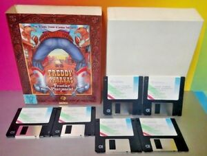 Freddy-Pharkas-Frontier-Pharmacist-Win-MS-DOS-VGA-EGA-3-5-Disk-Sierra-1993-Rare
