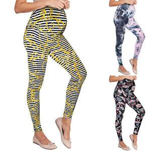 Shop für authentische billig für Rabatt Großhändler Details zu Damen Umstandsleggings Leggings Schwangerschaft Mutterschafts  Yoga Sport Hose 44