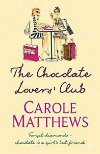 Very-Good-The-Chocolate-Lovers-039-Club-Matthews-Carole-Paperback